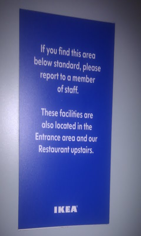 These facilities are also located in the Entrance area and our Restaurant upstairs